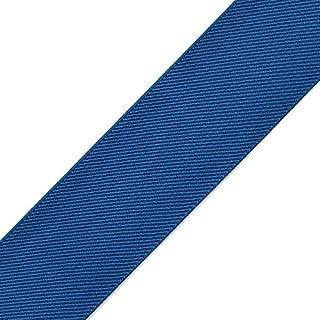 4-Yards 2-inch (50mm) Twill Elastic Band Trim, Waistband Elastic, Elastic Trim, Elastic Ribbon, TR-11831 (Royal Blue)