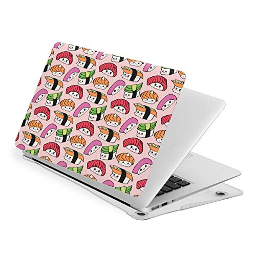 Kawaii Sushi MacBook Pro 13 Inch Case Slim Fits with A2159 A1989 A1706 A1708 Hard Shell Protective Cover Compatible with Apple Mac Pro 13