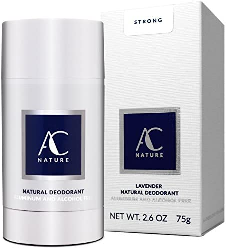 AC NATURE Lavender Natural Deodorant Stick Infused with Vitamin E High Performance Toxic Free product image