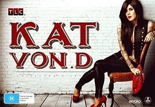 Kat Von D Collection - 5-DVD Box Set ( Miami Ink / LA Ink ) ( Kat Von.D (17 Episodes) ) [ NON-USA FORMAT, PAL, Reg.0 Import - Australia ]