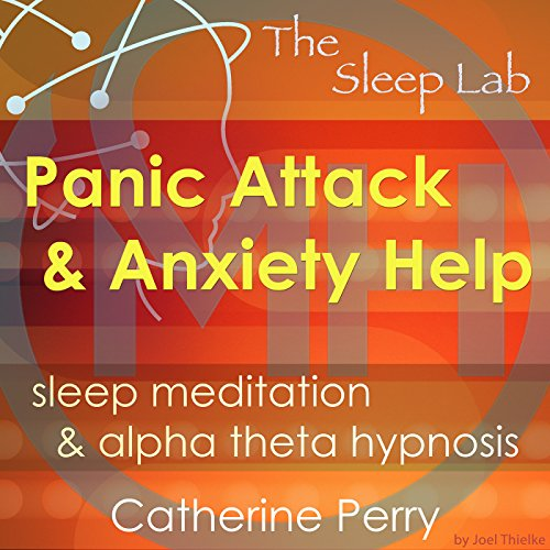 Panic Attack & Anxiety Help audiobook cover art