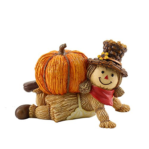 oamore Calabaza de Halloween Parte del hogar Decorativo (L)