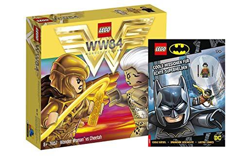 Lego DC Comics Super Heroes 76157 Wonder Woman vs Cheetah + misiones geniales para verdaderos superhéroes con figura de Robin (cubierta blanda)