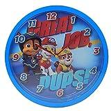 Paw Patrol PW16276 Job Pups' 24cm Wall Clock