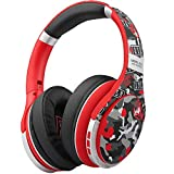Active Noise Cancelling Headphones, EL-A1 Bluetooth Headphones with Microphone, Swivel Ear Pad,Over Ear, Quick Charge, Deep Bass, Wired/Wireless Headset for Kids,Online Class, Home Office
