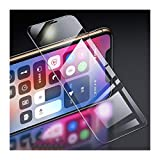 HHAO Chaox Pantalla Completa 3PCS Cubierta de Vidrio Templado Protector for el iPhone 6 7 8 6s Plus X Protector de Pantalla de Vidrio iPhone X (Color : For iPhone 11(XR), Size : 3 Pieces)