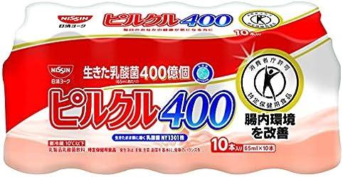 [冷蔵] 日清ヨーク ピルクル400 65ml×10
