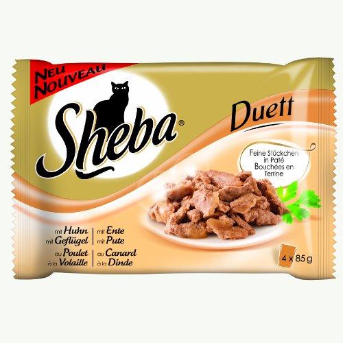 Sheba Duett Multipack, 13er Pack (13 x 340 g)