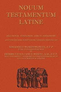 Novum Testamentum Latine (Latin Vulgate New Testament, The Latin New Testament) (Latin Edition)