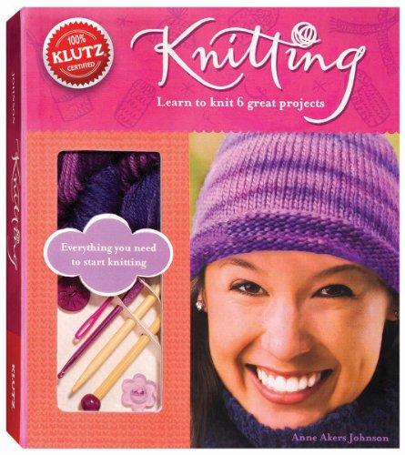 Klutz Knitting Book Kit