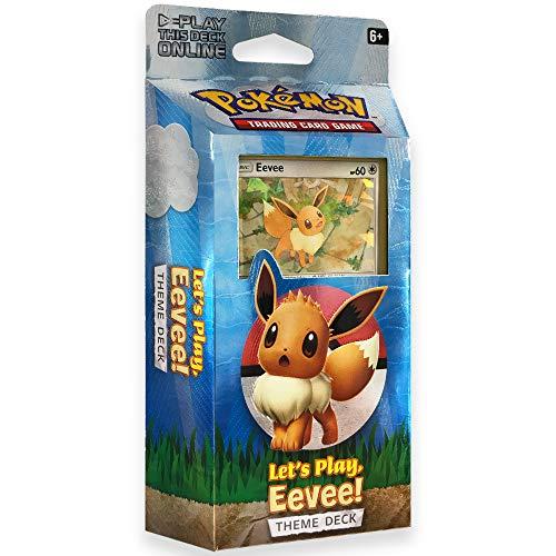Pokemon TCG: Let's Play Pikachu! Eevee Theme Deck