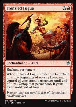 Magic The Gathering - Frenzied Fugue (018/351) - Commander 2016