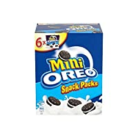 [Oreo ] オレオミニバニラスナックパック(1パック6~150グラム) - Oreo Mini Vanilla Snack Packs (6 per pack - 150g) [並行輸入品]
