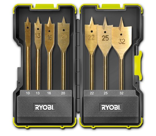 Ryobi 5132002252 - Juego de brocas helicoidales (7 unidades)