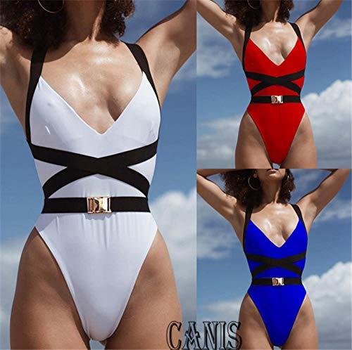 Women Sexy Swimming Costume Padded One Piece Bikini Push Up Bra Triangle Swimwear Bikini One Piece Beachwear Siwmsuit