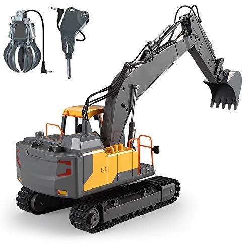 Lotees Camión remoto control de grúas excavador del juguete RC tractor cargador...