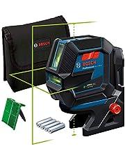 Bosch Professional Measurement lijnlaser GCL 2-50 G (groene laser, binnengebruik, houder RM 10, zichtbaar werkgebied: tot 15 m, 4 x AA-batterij, in kartonnen doos)