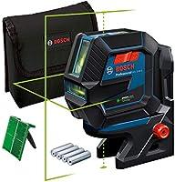 Bosch Professional Kombilaser GCL 2-50 G (grön laser,  interiör, RM 10-fäste, synligt arbetsområde: upp till 15m, 4x AA...