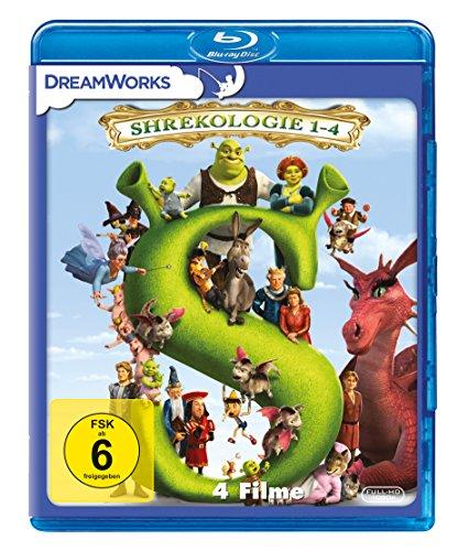 Shrekologie 1-4 [Blu-ray]