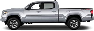 Dawn Enterprises CF2-TACDC Chromeline Body Side Molding Compatible with Toyota Tacoma - Blazing Blue Pearl (8T0)