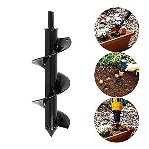 Taladro de barrena, Herramienta for el jardín jardinería barrena espiral Broca de plantación herramienta deshierbe Irrigación martillo eléctrico y el barrenador de plantación herramienta excavadora de