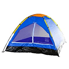 DURABLE MATERIAL –Keeping yourself, your camping equipment, and your personal items dry when you are camping is half the battle.The sturdy nylon material on the tent body and the convenient rain fly help to ensure water does not make its way into t...