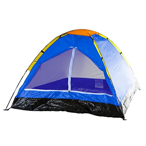 Happy Camper Two Person Tent by Wakeman Outdoors, Bold Blue