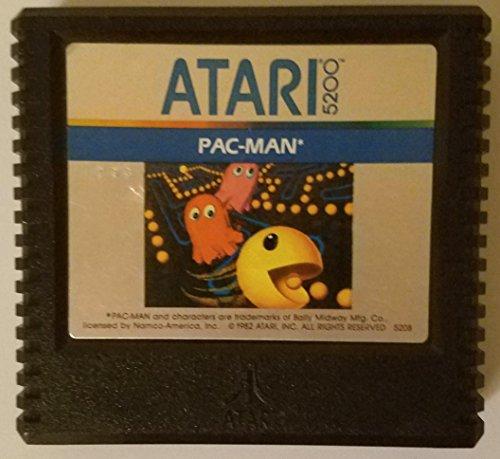 PAC-MAN ORIGINAL VIDEO GAME CARTRIDGE ATARI 5200 RARE VINTAGE