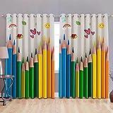 P Home Decor and Designer HD Digital Printed Eyelet 7 Feet Door Curtains