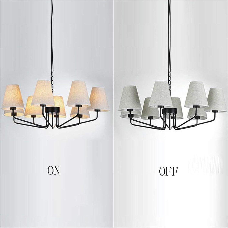 WHKHY 5W E27 Led Chandelier  3 LEDs 5 LEDs 8 LEDs Warm Light, White Substance Black