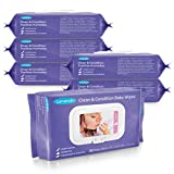 Lansinoh Baby Wipes Sensitive Skin with Lanolin, 480 Count