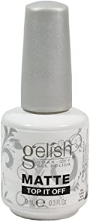 Gelish uñas de gel mate top-it-off 15ml