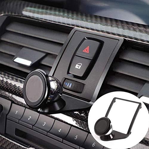 Yiwang 3 Farben aluminiumlegierung handyhalter Trim für 1 2 3 4 Serie gt f22 f23 f30 f31 f34 f32 f33 f35 f36 f80 f82 m4 2013-2019 Auto zubehör (schwarz)