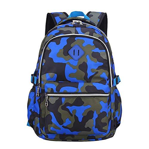 Casual Laptop Rucksack Wrestling Schoolbag Camouflage Blue Ravel Schultasche für Jungen und Mädchen