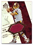 Patrick Ramsey 2004 UD Reflections Focus on the Future Game Worn Jersey #FO-PA - Washington Redskins