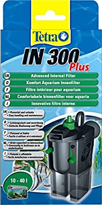 Tetra IN300 Plus Powerful Internal Filter for Physical, Biological and Chemical Aquarium Water Filtration