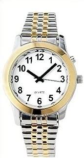 Ladies Deluxe Talking Wrist Watch Two Tone