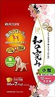 (まとめ買い)ペットライン ジェーピースタイル 和の究み 小粒 12ヶ月までの子犬用 2.1kg(300g×7パック) 【×3】
