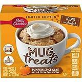 Mug Cake Pumpkin Spice Microvawe Mix with Cream Cheese Icing Mug Treats Limited Edition