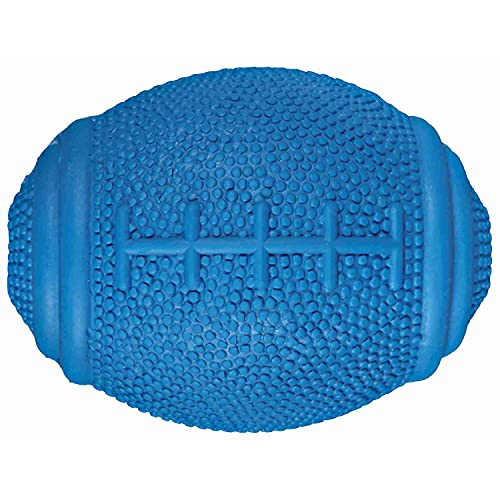Trixie 3323 Snack-Rugbyball, Naturgummi, 8 cm
