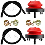 YOFMOO Pack of 2 Carburetor Primer Bulb Fuel Line...