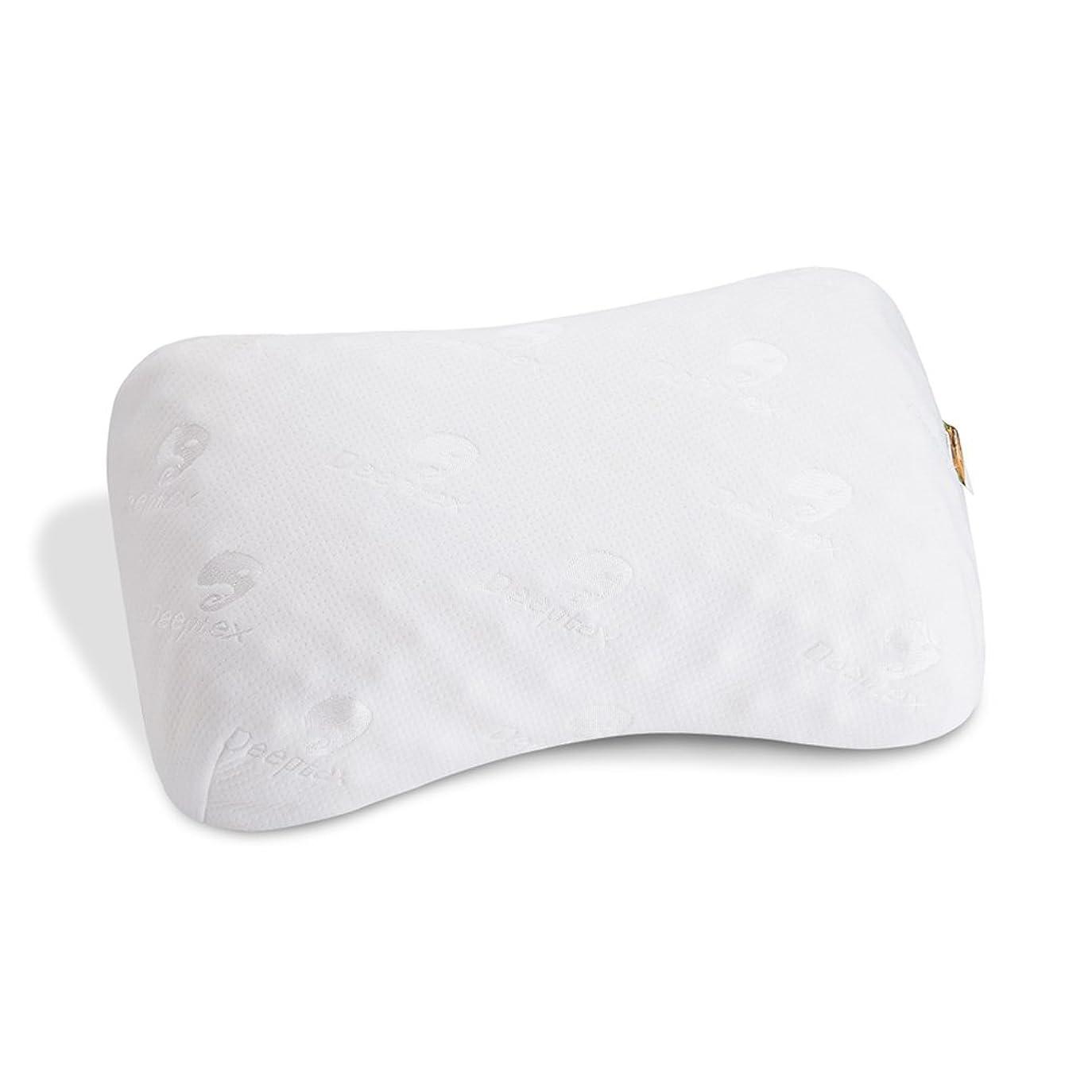 虐殺抽選火炎Deeptex ラテックス枕 肩こり改善枕 ツボタイプ 美容枕 高反発枕 安眠枕 W58D34H9-10CM