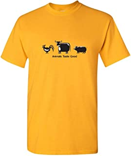 ZoDong Animals Taste Good Novelty Adult Humor Gift Idea Sarcastic Funny T Shirts