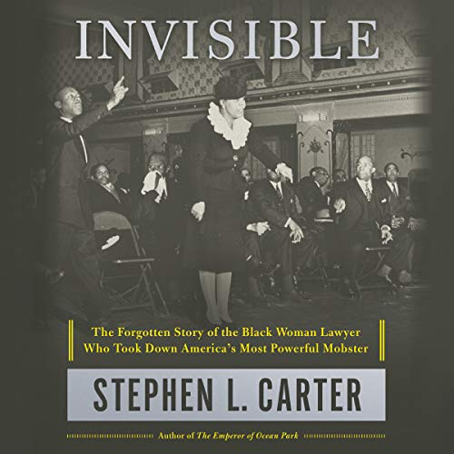 Invisible book cover