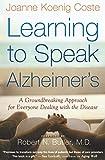 Learning to Speak ALzheimer's  book cover