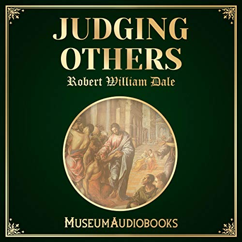 Judging Others audiobook cover art