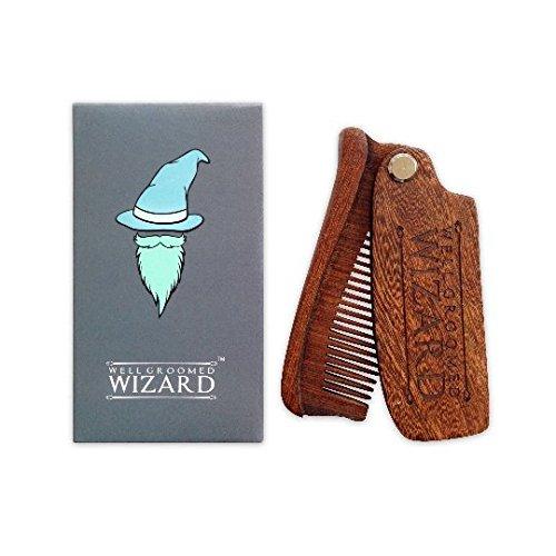 Peine para barba Well Groomed Wizard