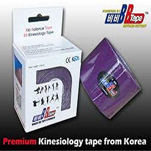 Venda Tape Neuromuscular 5 cm x 5 m Morado-Unidad