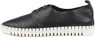 Django & Juliette Huston Navy Womens Sneakers Casuals Shoes