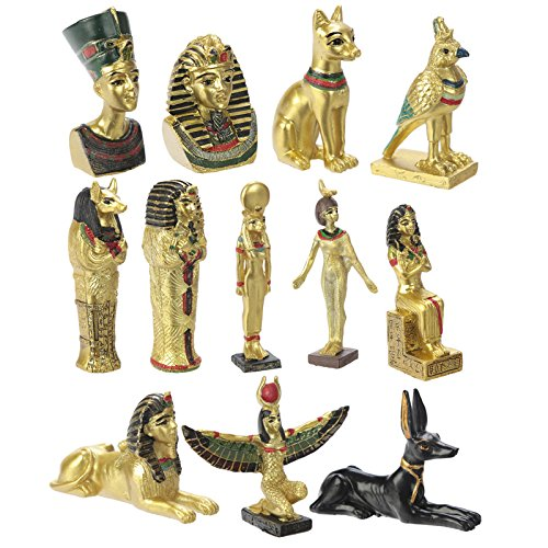 St@llion Diseo al azar figuras egipcias y estatuas isis regalo decorativo para el hogar oficina artculo
